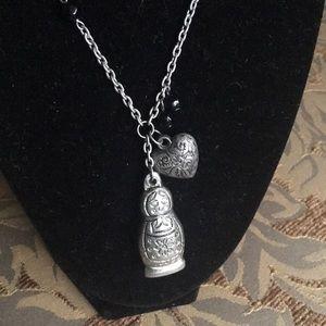 Jewelry - Russian Bushka Doll Necklace ✨